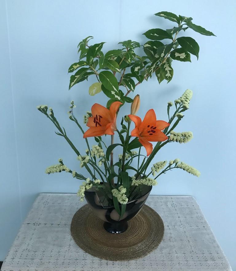 จิตใจสงบด้วยการจัดดอกไม้แบบโคริงกะ