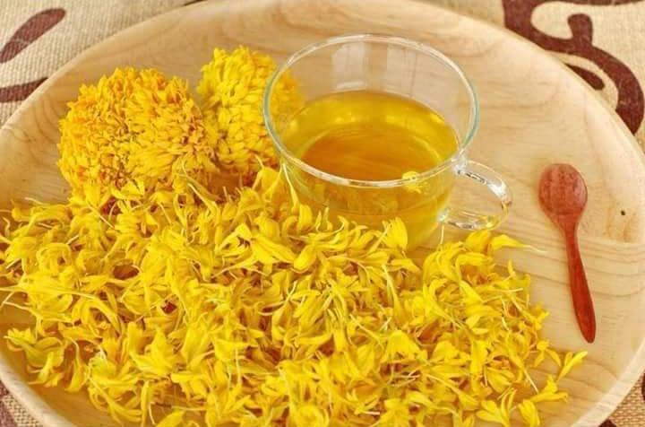 ชาดอกดาวเรือง ชาดอกไม้แก้อาการอักเสบ