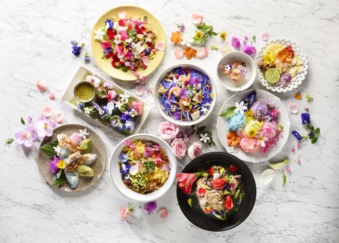 ประโยชน์ดอกไม้กับการทำอาหาร