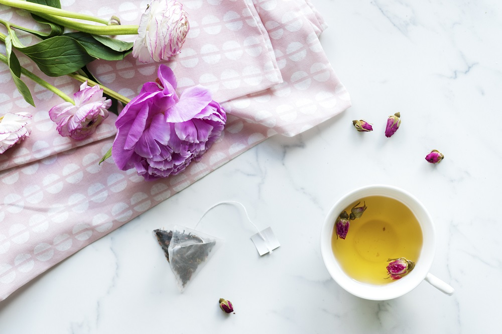 ประโยชน์ของดอกไม้ - ชากุหลาบรักษาโรค