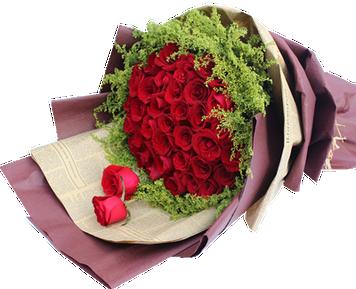 ดอกกุหลาบช่อใหญ่ประกอบด้วยดอกกุหลาบ 40ดอก
