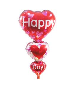 ช่อลูกโป่ง  happy love day