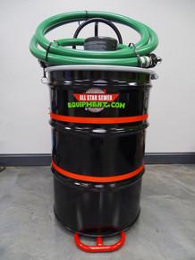 Portable Grease Trap Pumper/ Wet Vac/ Shop Vac