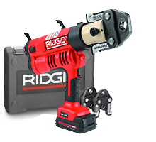 "Ridgid 43368 RP 340 Corded Press Tool Kit w/Jaws (1/2""-1"")"