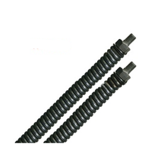 "3/8"" x 100' Straight No Core Cable W/Male Threaded Ends"
