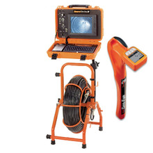 Gen-Eye SL-M-SDP-B Self Leveling Mini Color Camera with 100' Std Gel-Rod, Plus Hot Spot Pipe Locator