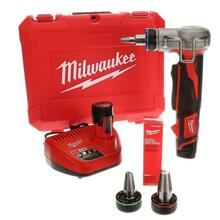 Milwaukee 2432-22 M12 12-Volt Lithium-Ion Cordless ProPEX Expansion Tool Kit