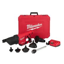 Milwaukee 2572B-21 M12 Airsnake 12-Volt Lithium-Ion Cordless Drain Cleaning Air