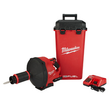 Milwaukee 2772A-21 M18 Fuel Drain Snake with Cable-Drive Kit-A