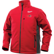 Milwaukee 202R-20XL M12 Heated TOUGHSHELL Jacket Only XL, Red