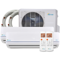 48000 BTU Dual Zone Mini Split Air Conditioner - Heat Pump - SENA/48HF/D