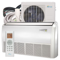 24000 BTU Floor Mounted Mini Split Air Conditioner - Heat Pump - SENA/24HF/IF