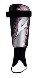 Diadora Mago Hard Shell Shinguard - Black / Grey / Pink
