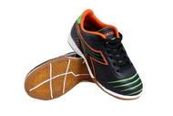 Diadora Cattura ID JR - Black / Orange / Lime