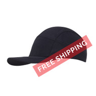 Coolcore Men's Cooling Running / Fitness Hat - Black