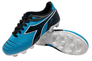 Diadora Cattura MD JR - Columbia Blue / Black - Virtual Soccer Exclusive *Free Shipping*