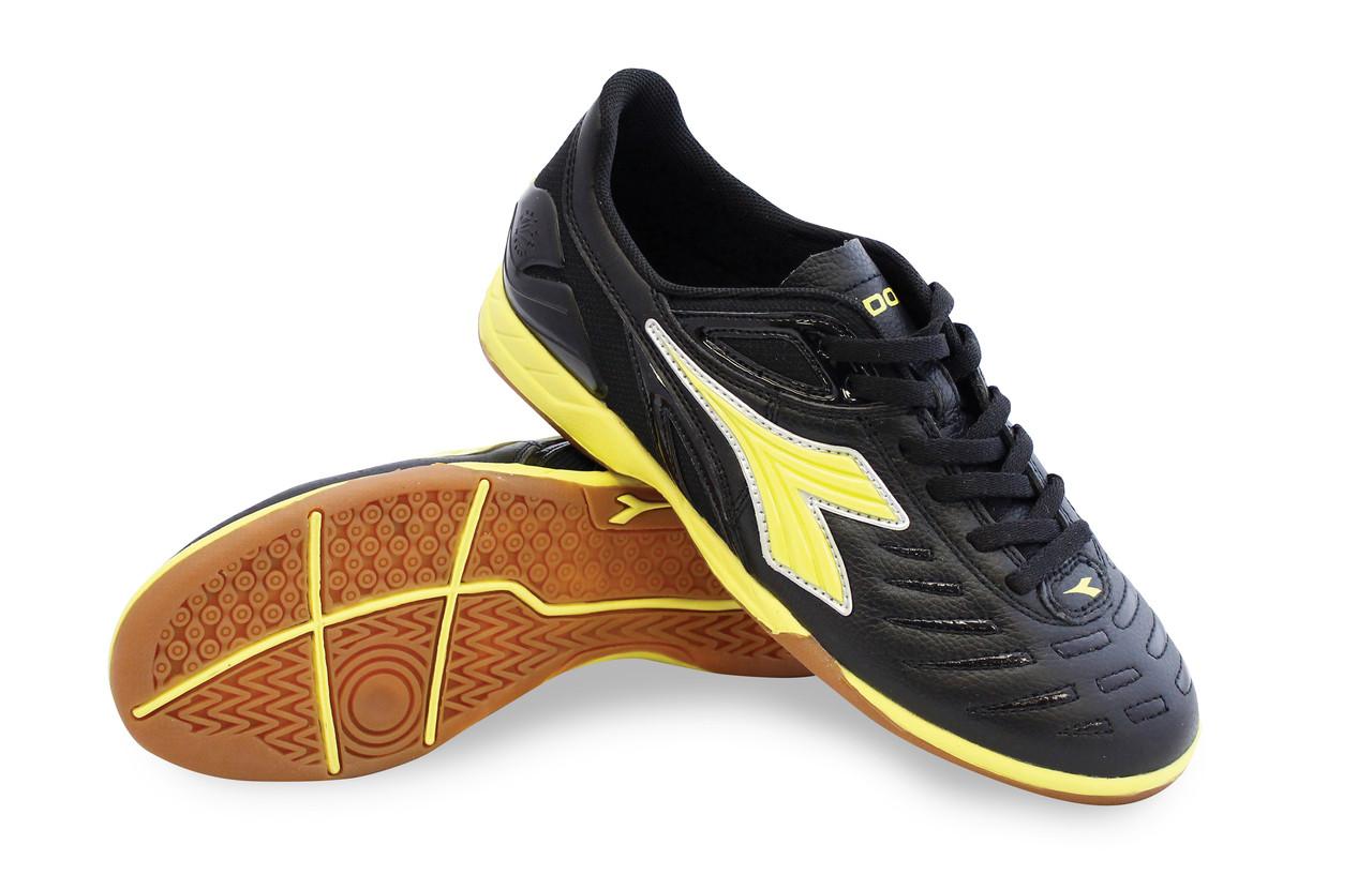 71dad18b6e4 Diadora Women s Maracana 18 W ID Indoor Soccer Shoe - Black   Fluo ...