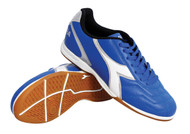 Diadora Men's Capitano ID Indoor Shoe - Royal - Virtual Soccer Exclusive *Free Shipping*