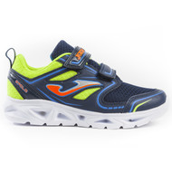 Joma Kids Apolo Junior LED Light Up Sneakers - Navy / Fluoro *Free Shipping*