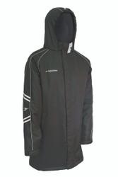 Calcio Bench Coat Black/Reflective Gray