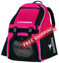 Diadora Squadra Backpack - Hot Pink