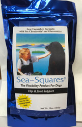 Sea Squares  16oz bag
