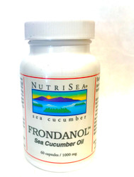 Frondanol is rich in Omega-3 fatty acids, and also more beneficial carotenoids and phospholipids than Krill oil.  Omega-3 fatty acids have been proven to benefit heart health, cognitive health, and also modulate inappropriate inflammatory responses in the body. As filter feeders living in the deep Atlantic waters, sea cucumbers consume plankton and microscopic organisms that contribute to the health benefits known to the Chinese for thousands of years.   Frondanol from Coastside Bio has been the subject of National Institutes of Health cancer research as well as research designed to discover new medicines  that may one day  promote healing modalities for IBD and Ulcerative Colitis. 60 capsules  1000 mg