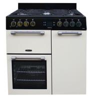 Leisure CK90G232C 90cm Cream Gas Range Cooker