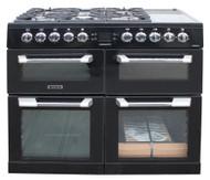 Leisure Cuisinemaster CS100F520K Range Cooker Dual Fuel 100cm Black