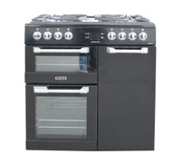 Leisure CS90F530K Range Cooker Dual Fuel 90cm Black