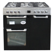 Leisure Cuisinemaster CS90F530X Dual Fuel Range Cooker 90cm Stainless Steel