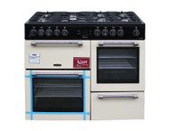 Leisure Range Cooker CK110F232C Dual Fuel 110cm Cream