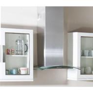 Beko 70cm Elegant Glass Chimney Hood Stainless Steel