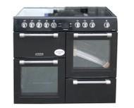 Leisure Cookmaster Electric Range Cooker CK100C210K 100cm Black
