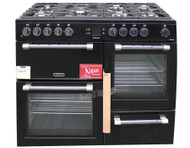 Leisure Cookmaster CK110F232K Dual Fuel Range Cooker 110cm in Black