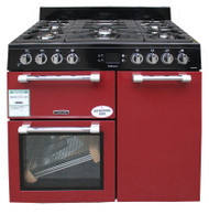Leisure Cookmaster CK90F232R Dual Fuel Range Cooker 90 cm Red