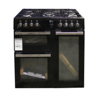 FLAVEL MLN9FRK 90 cm Dual Fuel Range Cooker Black