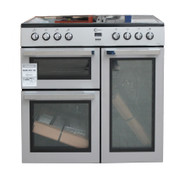 FLAVEL MLN9CRK 90 cm Electric Range Cooker Silver