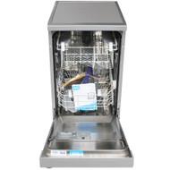 Beko DFS05010S Freestanding Slimline Diswasher Silver