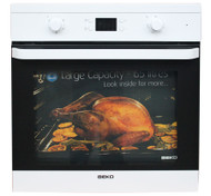 Beko OIF21300W- EcoSmart Single Fan Oven White