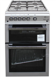 Flavel ML61NDSP Gas Cooker 60cm Silver