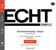 ECHT Artist Lounge and Workshop