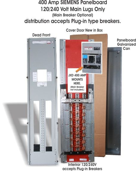 p2c42jx400abs, 400 amp main breaker p2 panelboard by siemens Cable TV Distribution Amplifier p2c42jx400abs, 400 amp main breaker p2 panel board by siemens