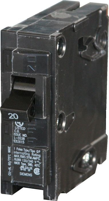 Q140 Siemens Type QP Breaker Plug-In