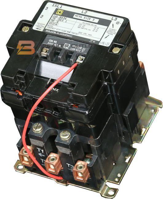 8502SEO2V02S Square D 90A Lighting Contactor 120V Coil