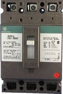 General Electric TED134080 3 Pole Circuit Breaker