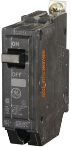 General Electric THQB1120 circuit breaker 20 amp, 120 volts, bolt-on - Breaker Outlet