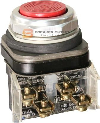 800T-A6 Allen-Bradley Red Momentary Contact Push Buttons, Series N