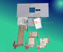 Siemens 6JJ61 Breaker Mounting Kit Used