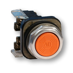 800T-A3A Orange Pushbutton